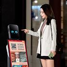 商场机器人互动营销